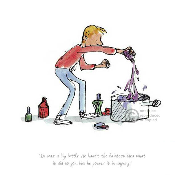 Roald Dahl's George's Marvellous Medicine by Quentin Blake