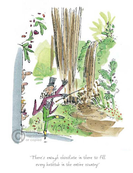 Roald Dahl's Charlie & the Chocolate Factory by Quentin Blake